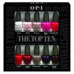 Opi The Top Ten Mini Pack