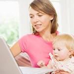 Moeders met jonge kinderen zijn twee keer zo actief op sociale media websites