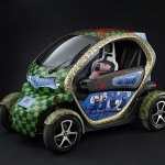 Kunstzinnige Renault Twizy schittert op Masters of LXRY