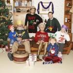 Grappige kersttruien