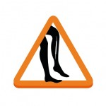 Meest voorkomende vrouwenpech: ladder in panty