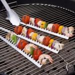 Handige spies om te barbecueën