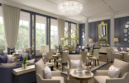 Waldorf astoria amsterdam geopend women online - Deco loungeeetkamer ...