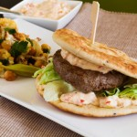 Recept gegrilde lamsburger