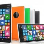 De Lumia 830 en selfie-smartphone Lumia 735