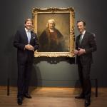 Koning Willem-Alexander opent tentoonstelling Late Rembrandt