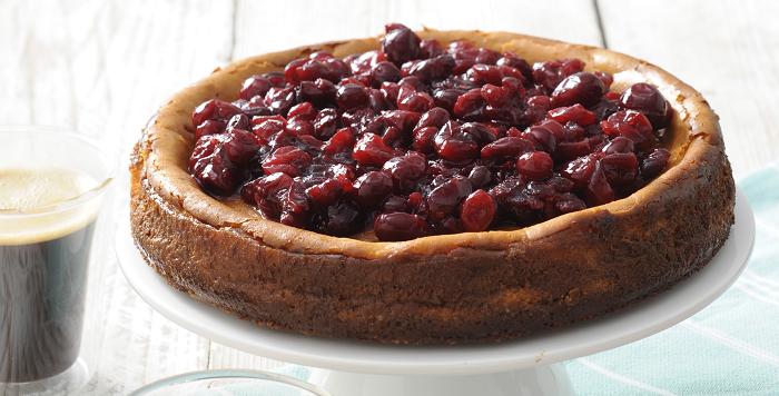 Recept Cranberry Cheescake
