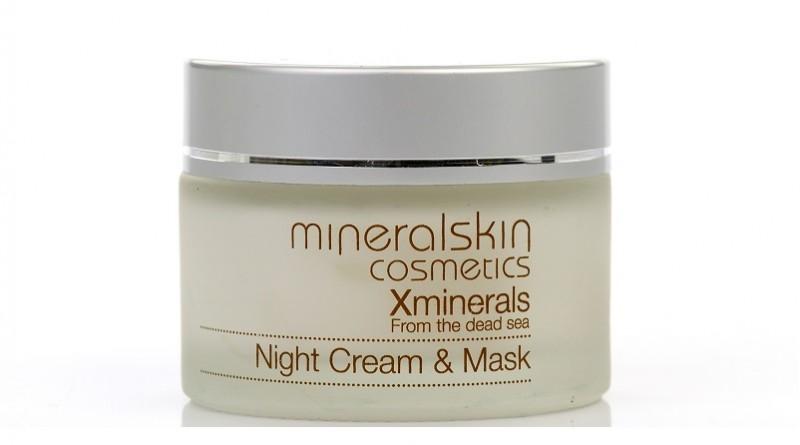 XMinerals Night Cream & Mask, de unieke twee-in-één jeugdbooster