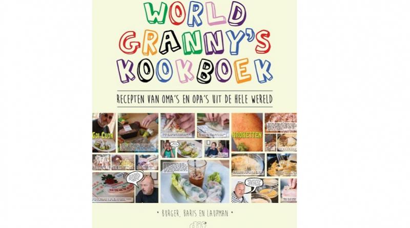 WorldGranny's Kookboek - wereldwijde authentieke gerechten in stripvorm