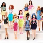 Barbie voegt drie nieuwe lichaamstypen toe aan Barbie collectie