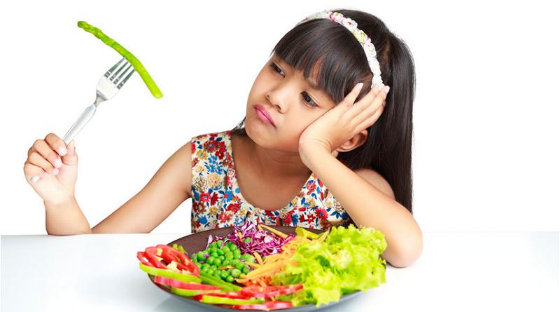 Kleuters die groenten eten, eten net zo waarschijnlijk junkfood
