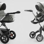 De nieuwe 'Grey Melange' wandelwagens van Stokke