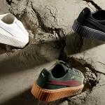 Rihanna en Puma onthullen drie nieuwe kleuren van de Creeper collectie
