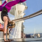Yoga in het hoogste reuzenrad ter wereld in Las Vegas