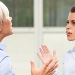 8 gemene type vrouwen op kantoor