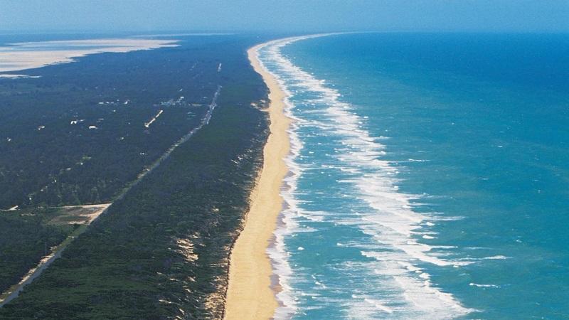 Ninety Mile Beach nieuw zeeland
