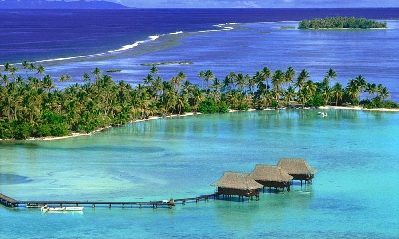 vahine eiland Frans-Polynesië