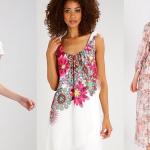 7 x jurken met bloemen voor de lente