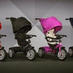 De innovatieve Bentley Baby wandelwagen/kinderfiets
