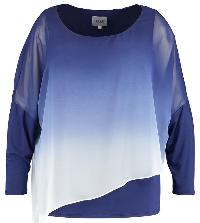 plus size blouses