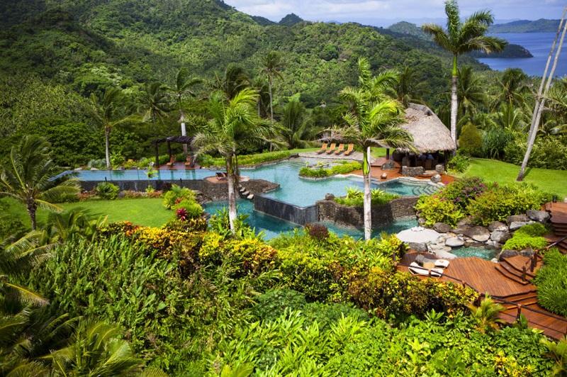 Hilltop Villa op Laucala Island, Fiji
