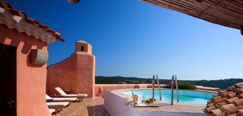 Penthouse Suite in Hotel Cala di Volpe, Sardinië, Italië
