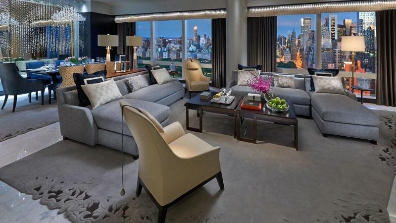 Suite 5000 in Mandarin Oriental, New York