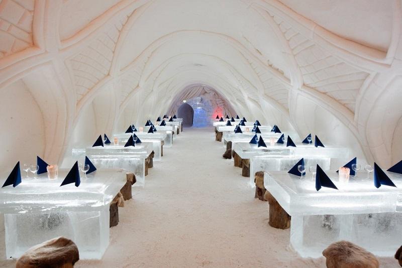 Snow Castle Restaurant, Finland