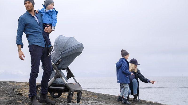 Stokke Trailz Nordic Blue Exclusive Edition