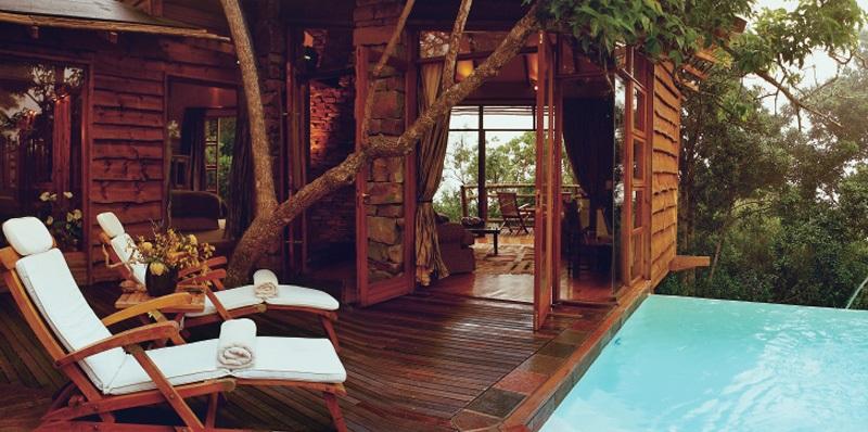 Tsala Treetop Lodge, Zuid-Afrika