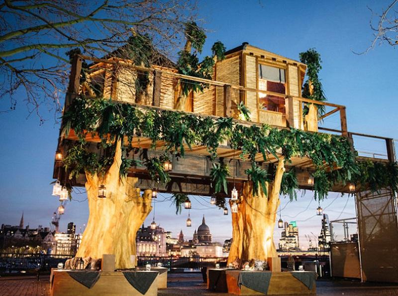 Virgin Holidays Treehouse, London