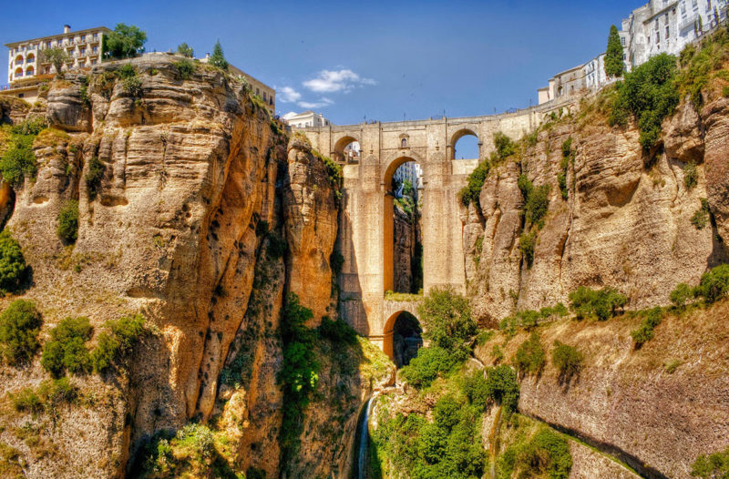 The Puente Nuevo Bridge Ronda - Spanje