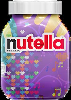 limited edition Nutella potten